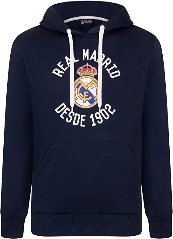 Real Madrid - Sudadera oficial con capucha - Para hombre - Con el ...