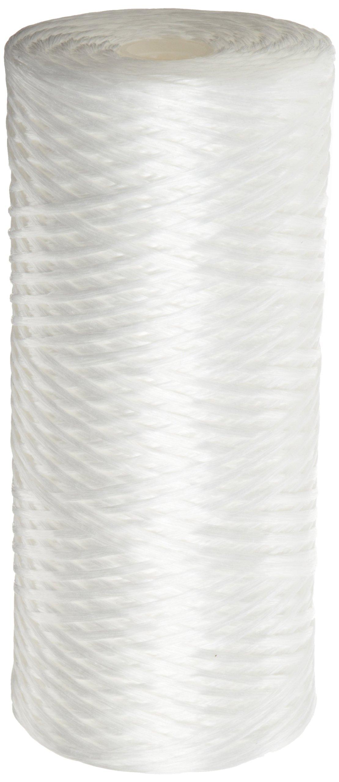 Pentek WPX25BB97P String-Wound Polypropylene Filter Cartridge, 10'' x 4.5'', 25 Microns by Pentek