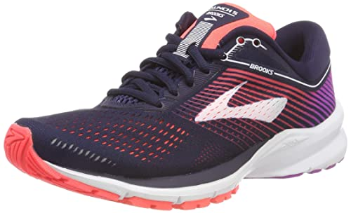 Navy/Coral/Purple Running Shoes