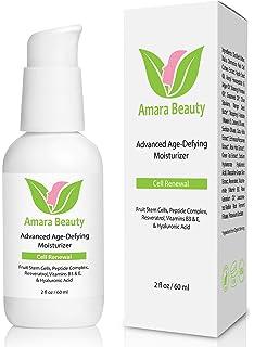 Crema Antienvejecimiento Humedad Crema para la cara con fruta tronco celdas, peptiden, ácido hialurónico