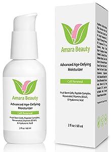 Anti Aging Face Cream Moisturizer with Resveratrol & Peptides, 2 fl. oz.