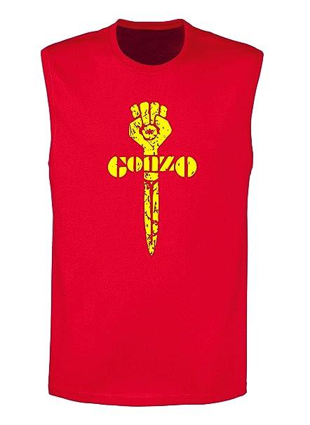 nuovi prezzi più bassi vasta selezione di dove posso comprare Speed Shirt Canottiera Uomo Rossa TCO0064 Gonzo: Amazon.it ...