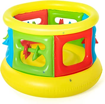 Bestway 52056 - Parque Infantil Hinchable Jumping Tube Gym: Amazon ...