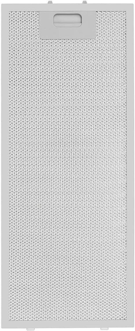 Klarstein Vinea - Filtro para grasa extraíble, Filtro de recambio, Filtro de aluminio, Accesorio, Juego de dos filtros, Cierre fácil de usar, 20 x 48,5 cm, Campana extractora Vinea, Blanco: Amazon.es: Grandes electrodomésticos