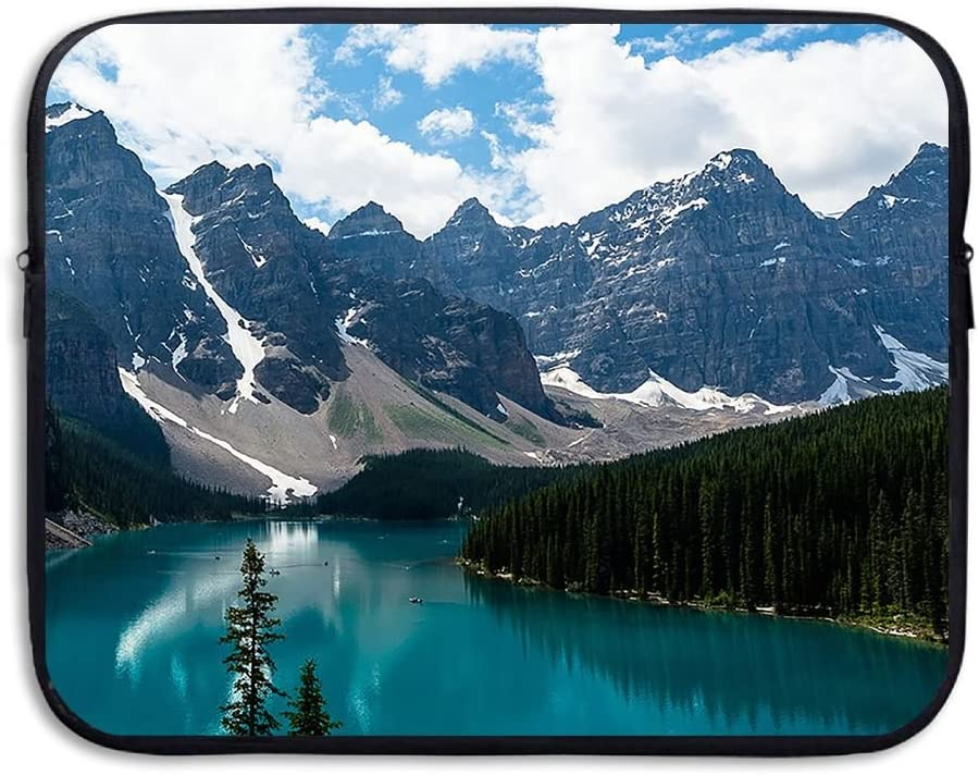 Reteone Laptop Sleeve Bag Beautiful Nature Lake Landscape Cover Computer Liner Package Protective Case Waterproof Computer Portable Bags