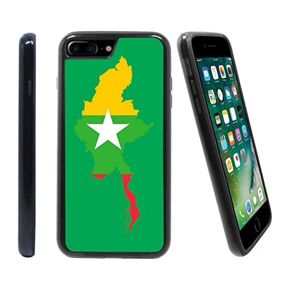 Amazon com: [Map and Flag of Myanmar] for Apple iPhone 7