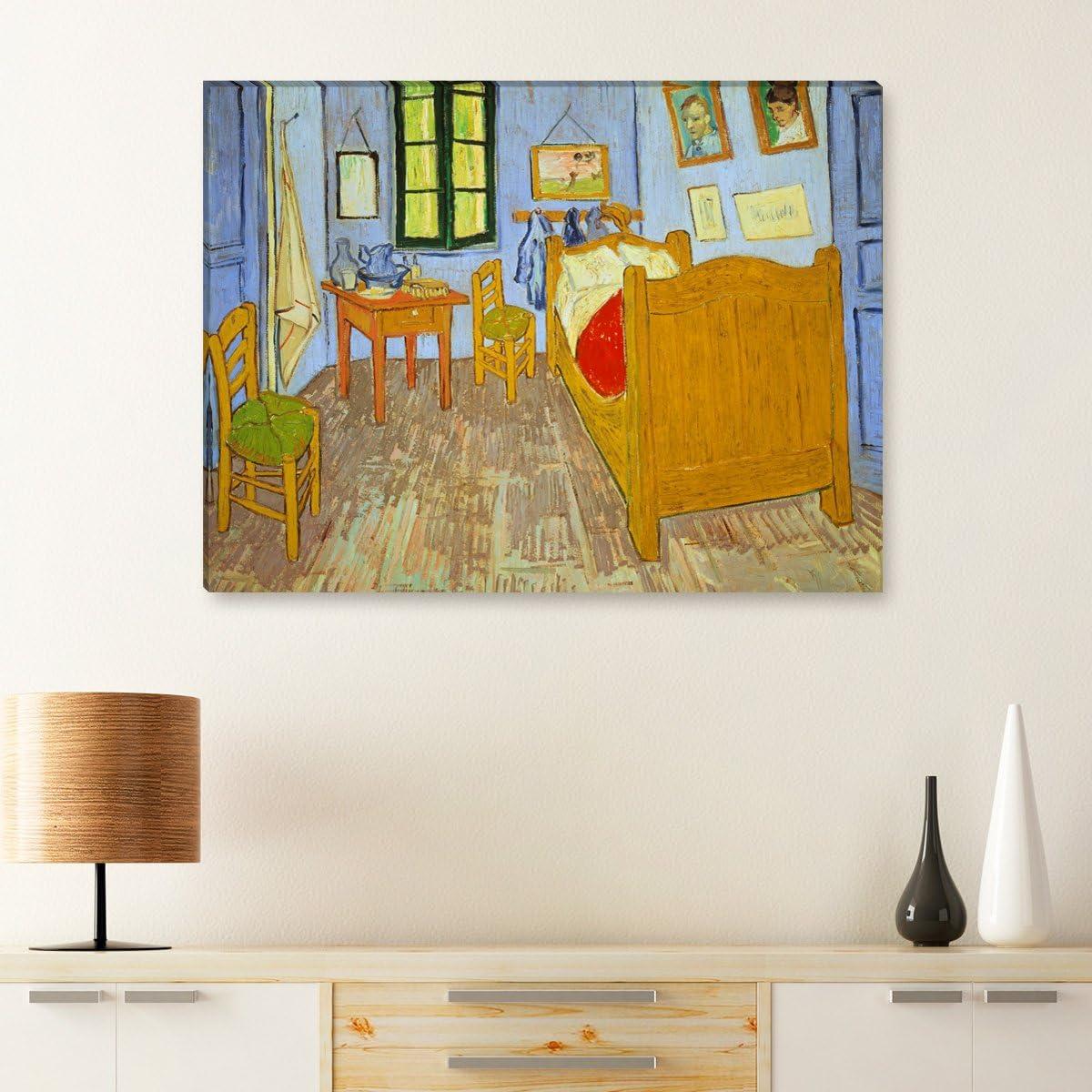 Wandkings Lienzo imágenes de Vincent van Gogh, Schlafzimmer in