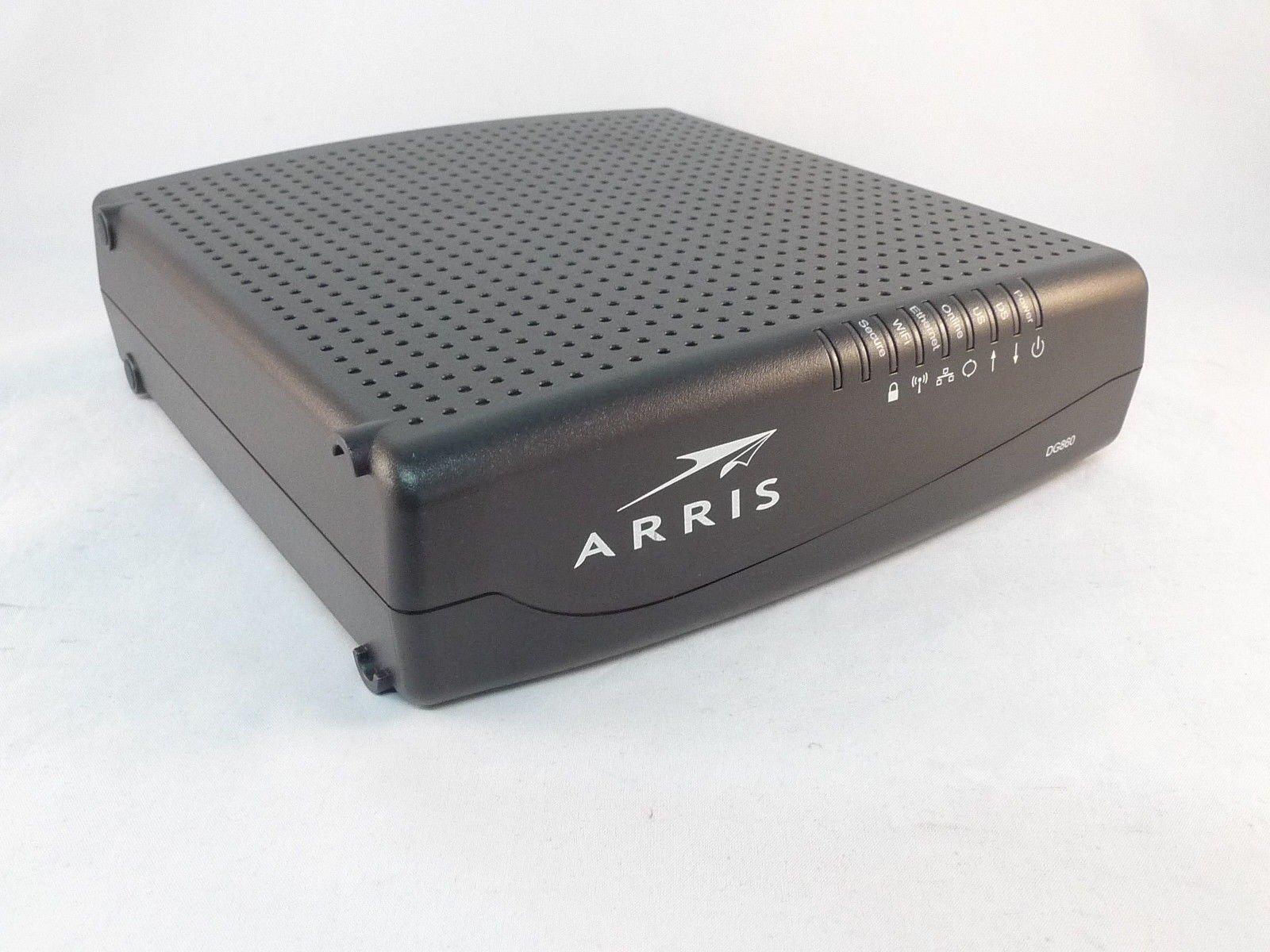 Arris Dg860a Docsis 3.0 Cable Modem Wireless Router Gateway by Unknown