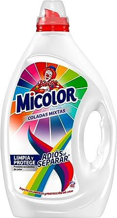 Micolor Detergente Gel Adiós al Deparar 40D: Amazon.es ...