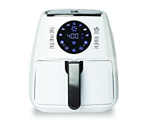 Kalorik, Airfryer with Dual Layer Rack White
