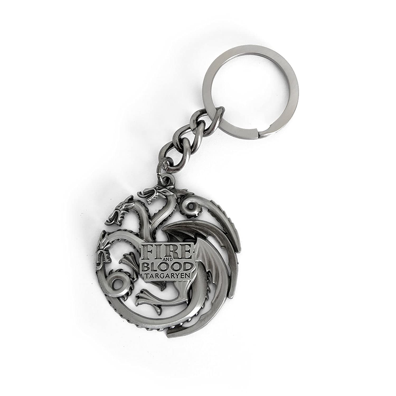 Juego de Tronos Casa Targaryen cresta llavero de regalo ...