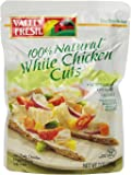 Valley Fresh Premium White Chicken Cuts, 7-Ounce Pouches (Pack of 12)