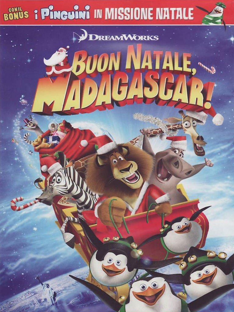 Buon Natale Madagascar.Buon Natale Madagascar Amazon Co Uk David Soren Dvd Blu Ray