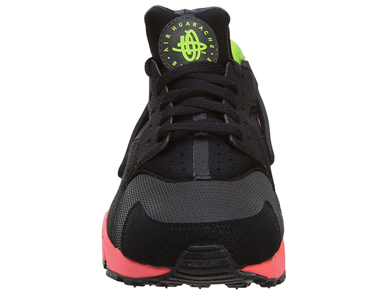 low cost 9240b 3083e Nike Men s - Air Huarache  RARE  Anthracite Black-Hyper Punch-Electric Green   Amazon.co.uk  Shoes   Bags