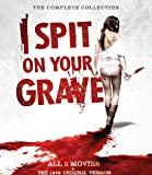 4 BLU RAY Box I Spit on your Grave 1 + 2 + 3 + The 1978 Original Version - Uncut - The Complete Collection