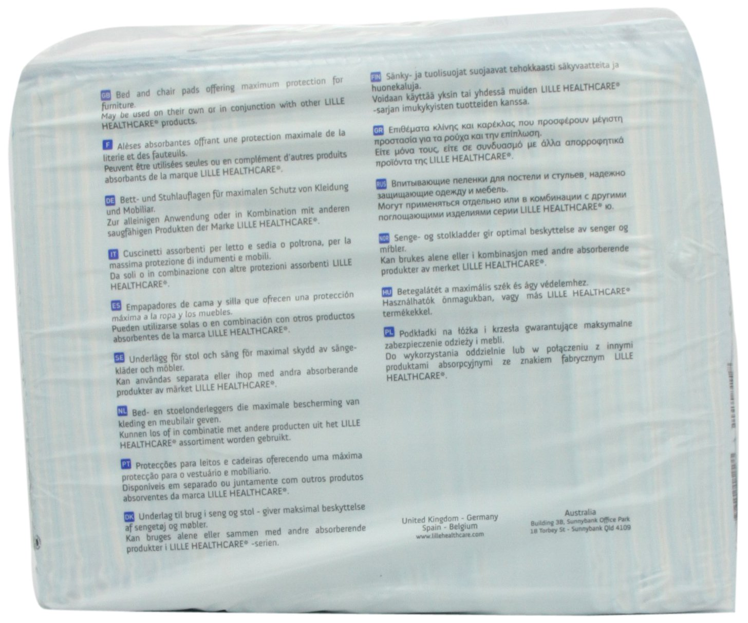 Amazon.com: Patterson Medical Lilbed Disposable Furniture Protectors 600 x 900mm Absorbancy 1760ml: Computers & Accessories