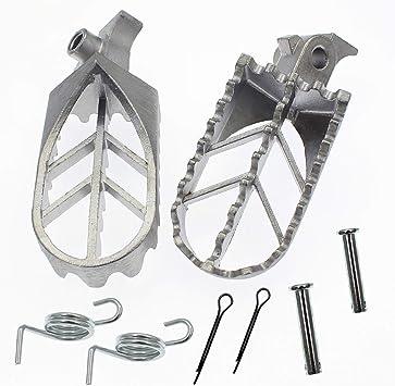 Aluminium Foot Pegs fit for 50cc 70cc 110cc 125cc 150cc 4 Strokes Pit Dirt Bike