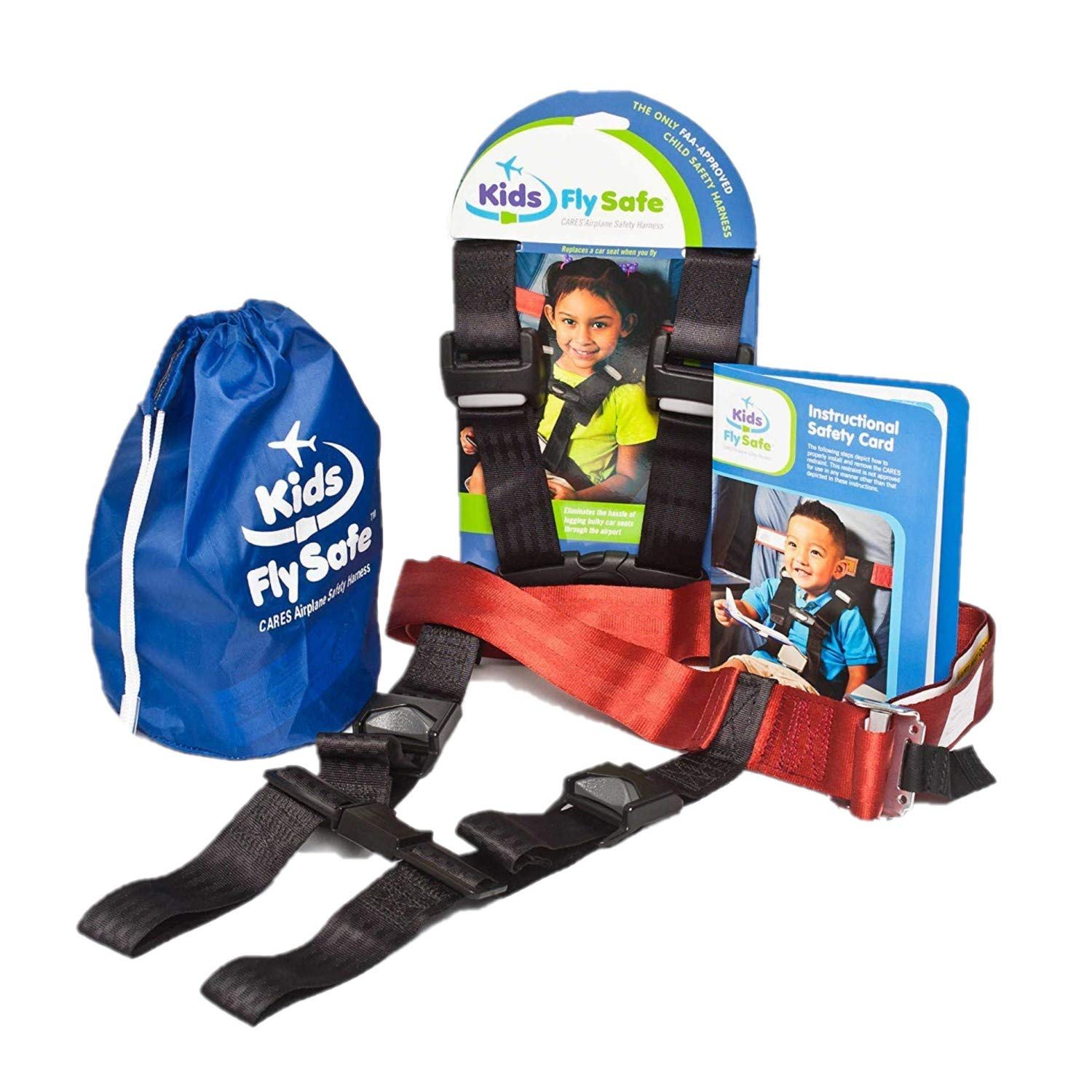 Child Airplane Travel Harness - Cares Safety Restraint System - The Only FAA Approved Child Flying Safety Device