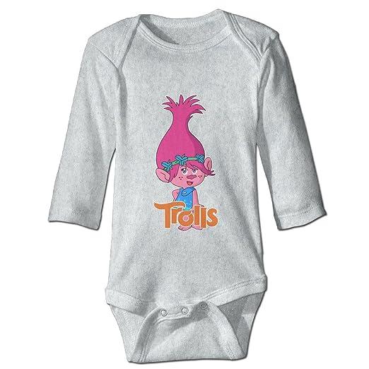 Amazon.com  YOG MILK Trolls Poppy Infant Baby s Romper Long Sleeve Jumpsuit  Climb Clothes  Clothing 8c7871350d49