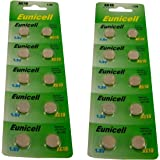 20 AG10 1.5V Alkaline Batteries - Replaces SR1130, SR54, SR1131, 389, 390 But...