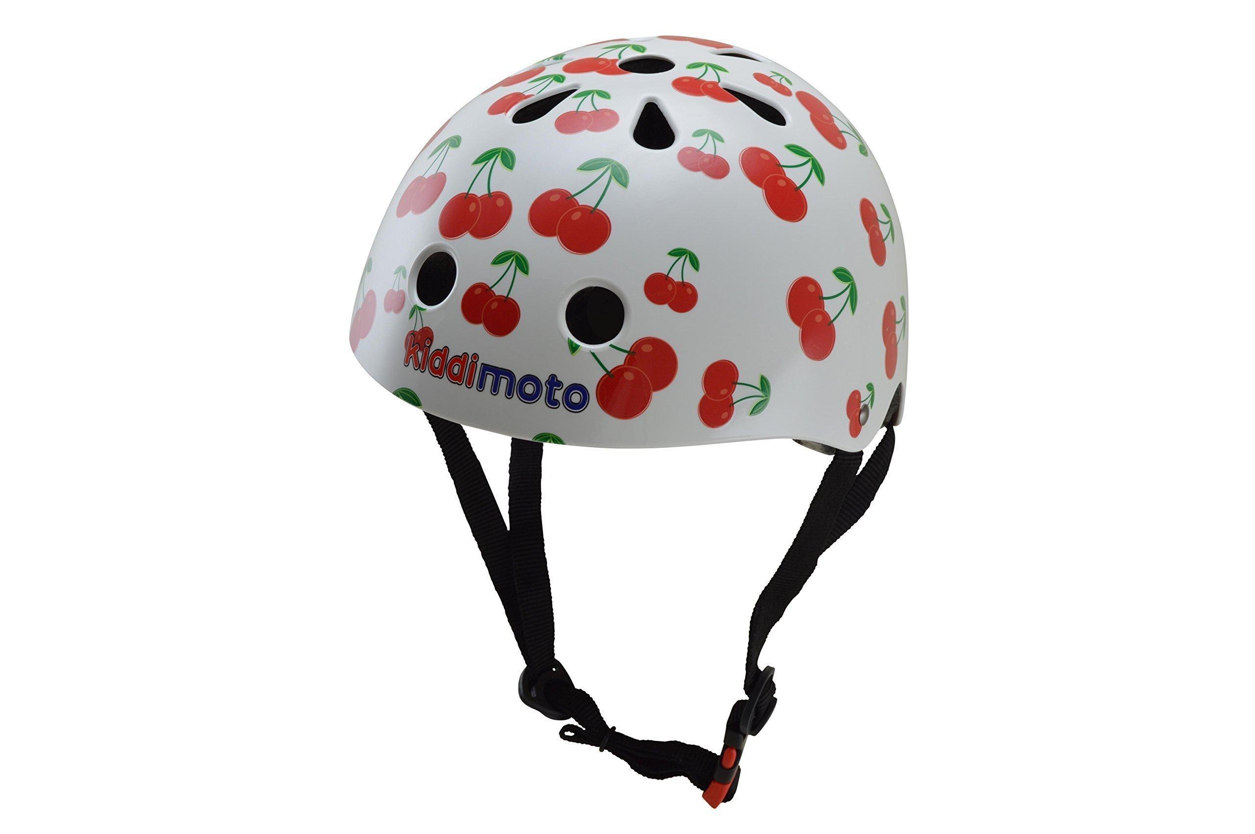 Kiddimoto Kids Helmet - Cherry Small