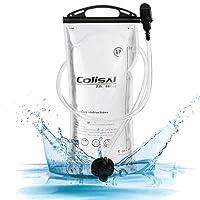 Colisal Trinkblase 2L-3L Wasserblase Trinkbeutel für Trinksystem Wanderrucksack Trinkrucksack Trinksack Zum Camping Wandern Radfahren