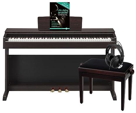 Yamaha arius r set risparmio pianoforte digitale con sgabello e