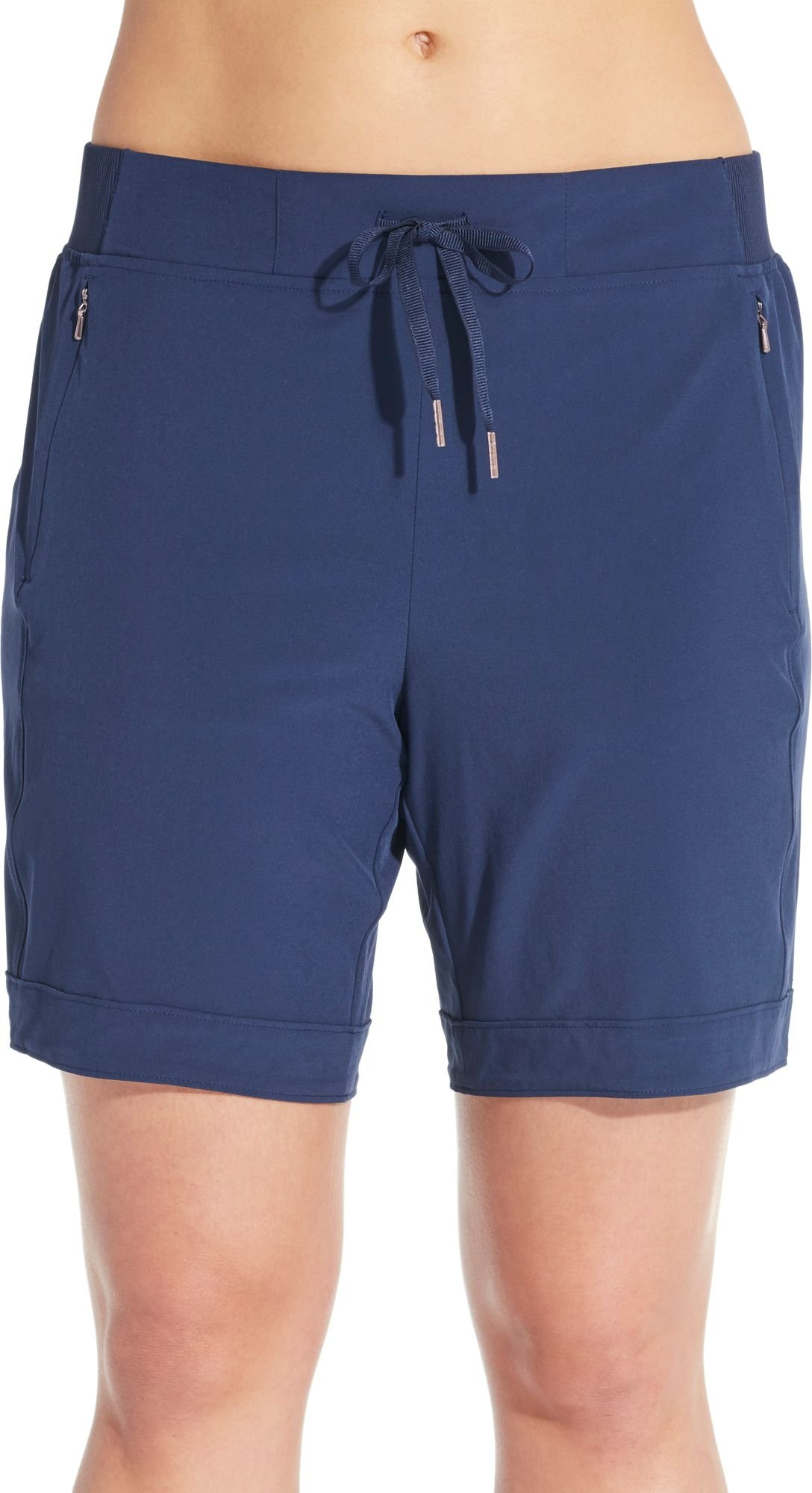CALIA by Carrie Underwood Women's Anywhere Bermuda Shorts (S, Peacoat)