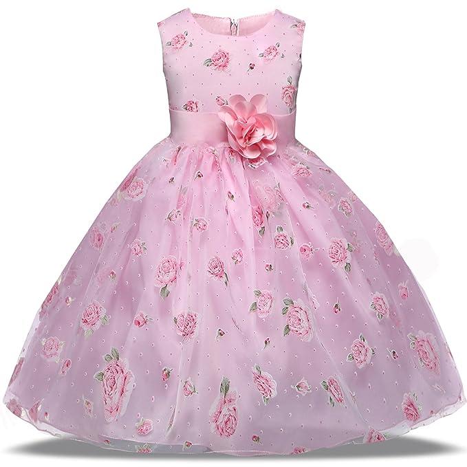 Amazon.com: TTYAOVO Vestido de fiesta de princesa con ...