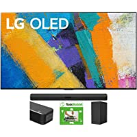 LG OLED65GXPUA 65-inch GX 4K Smart OLED TV with AI ThinQ (2020) Bundle SN5Y 2.1 Channel High Res Audio Sound Bar with…