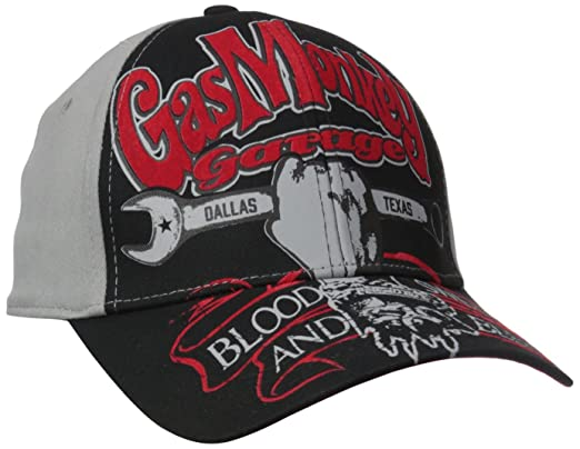 0adc40375 ... release date gas monkey garage dallas texas tv show automobile cars  gray snapback hat cap e65ee