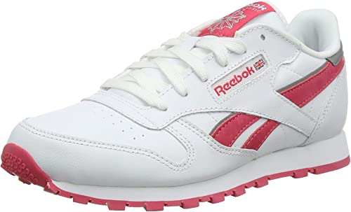Reebok Cl Leather Reflect, Zapatillas de Running para Niñas ...