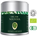 Finest Organic Matcha Green Tea Powder 30g – Japanese Ceremonial Grade AAA – By Heapwell Superfoods