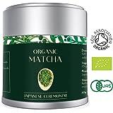 Matcha Green Tea Powder Finest ORGANIC CEREMONIAL Grade 30g per Premium AAA Japanese VIBRANT DEEP GREEN Colour | Vegan, Antioxidants, Energy and Metabolism Boost (Lot 583)