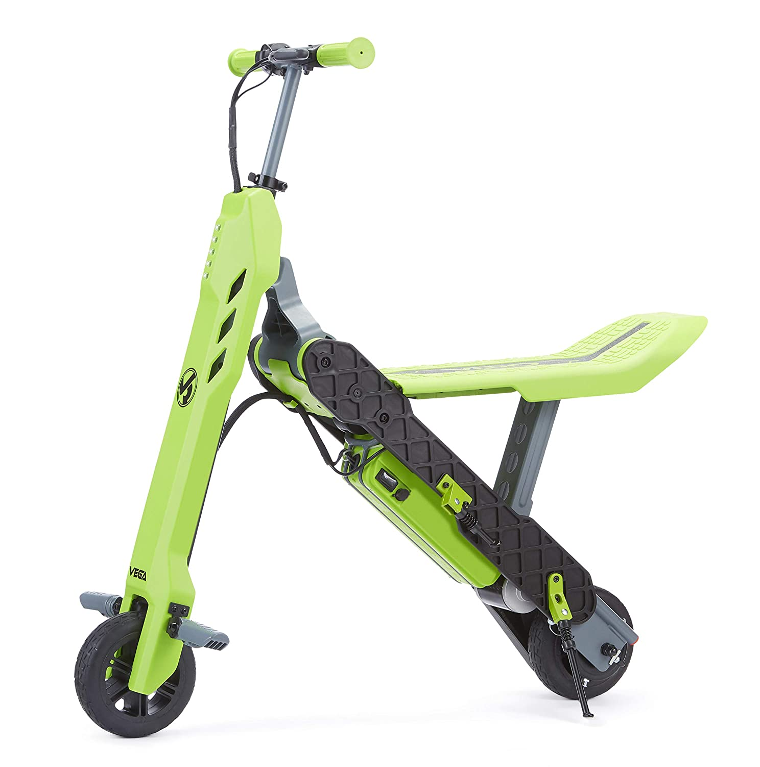 Electric Scooter Bike >> Amazon Com Viro Rides Vega Transforming 2 In 1 Electric Scooter