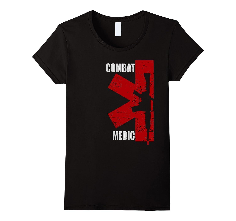 Combat Medic – Grunge Style T-shirt