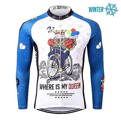 Thriller Rider Sports® Hombre Outdoor Sport térmicamente Montaña Invierno Cilindro de chaqueta, hombre, Where is My Queen?
