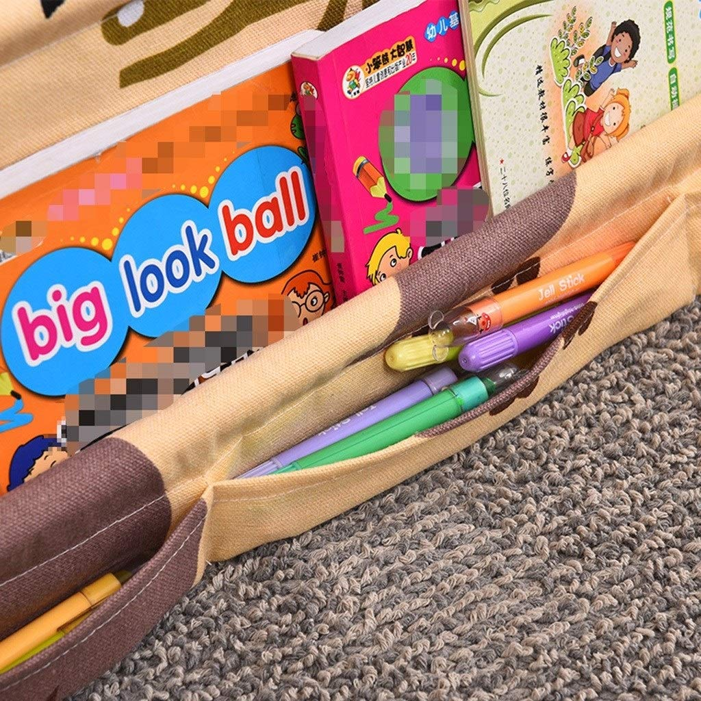 Massivholzschrank Cartoon Einfaches B/ücherregal Color : Beige, Size : 60 * 40 * 75 Bilderbuch-Regal Kinder Wohnzimmer Modern Kindergarten Bibliothek RJLI B/ücherregale Kinderb/ücherregal