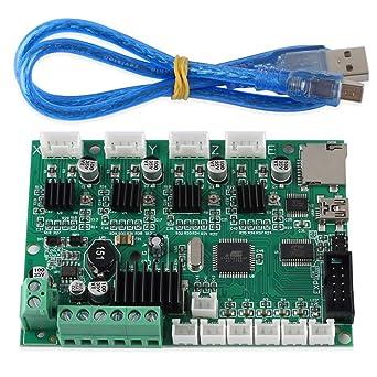 FYSETC placa base para impresora 3D V1.1.3 24 V Mega 1284P placa ...