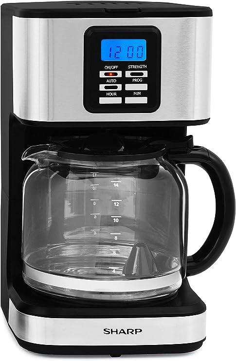 Sharp sa-bc2002i cafetera de Filtro, 900 W, 1.8 litros, Finition Inox: Amazon.es: Hogar