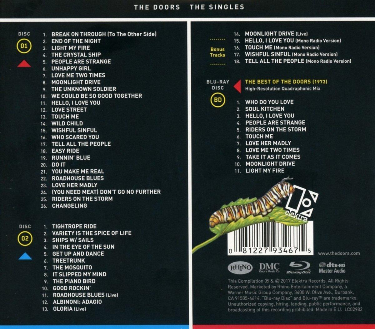 The Doors The Singles 2cd1blu Ray Amazon Music