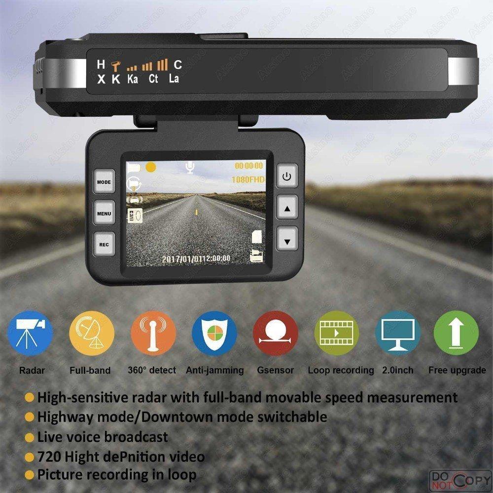 Amazing, velocidad de grabación de DVR coche Detector de trampa, 2018 nuevo detector de radar con HD DVR Dash Cam por Smartpro: Amazon.es: Electrónica