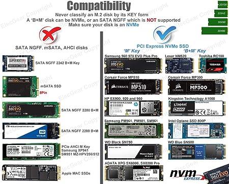 USB 3.1 NVMe M.2 SSD Caja de Carcasa: Amazon.es: Electrónica