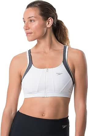 Speedo Women's Precision Pleat Zip top