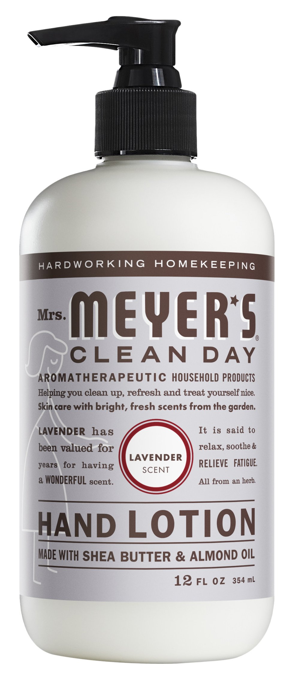 Mrs. Meyer's Clean Day Hand Lotion, Lavender, 12 oz