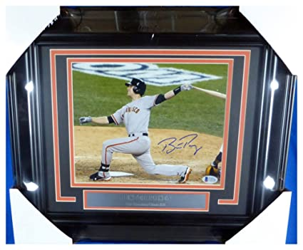 6f8f9963e46 Buster Posey Autographed Signed Framed 8x10 Photo San Francisco Giants -  Beckett Authentic