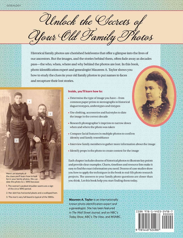 Genealogy dating old photographs