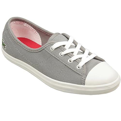 Zapatillas Lacoste Ziane para niña (Gris)