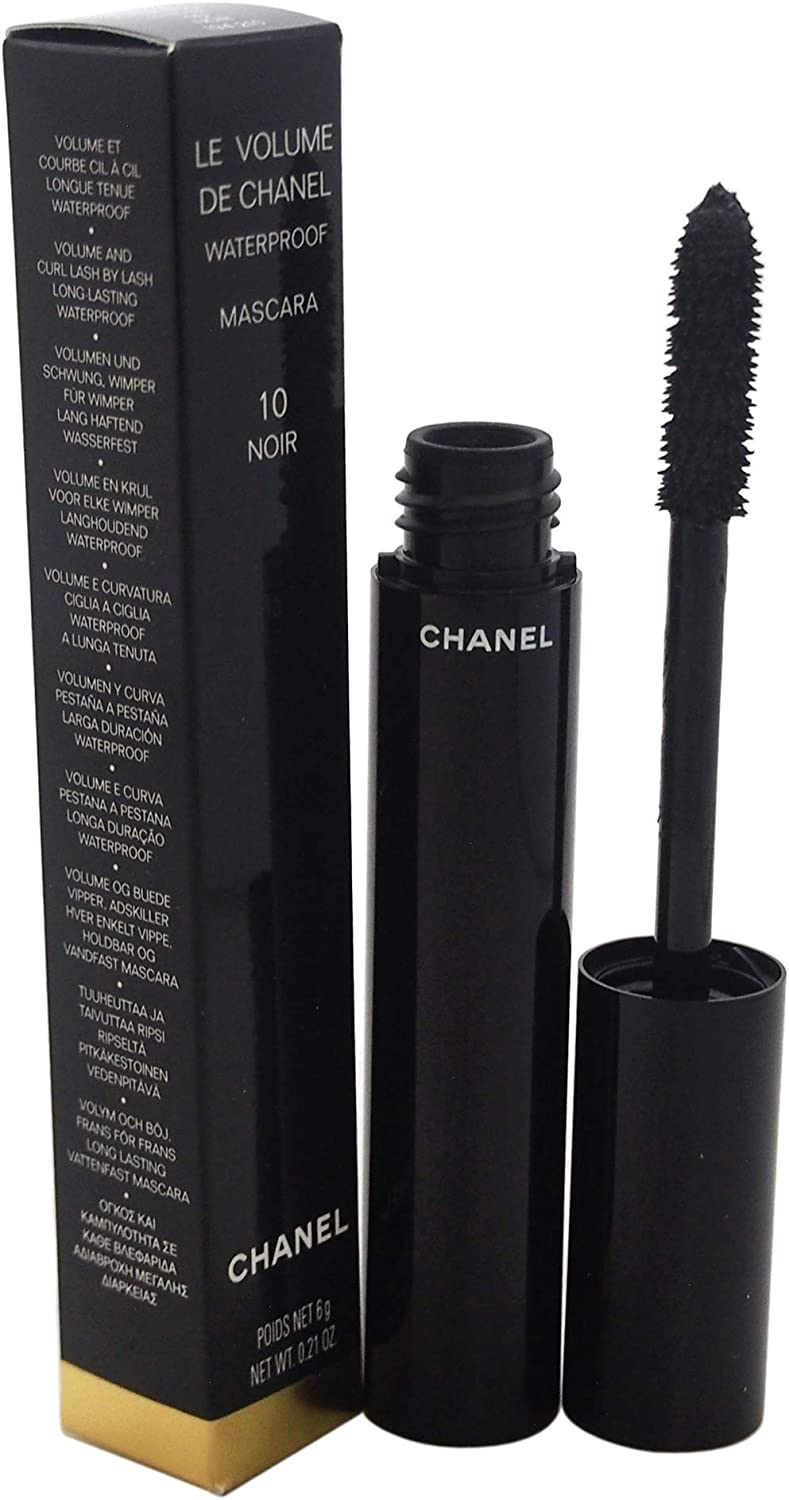Chanel Le Volume De Chanel Mascara Wp #10-Noir 6 gr: Amazon.es ...