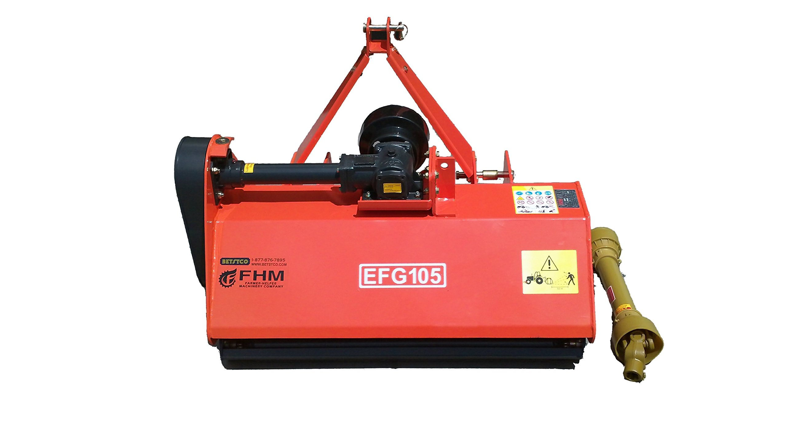 Farmer Helper 41'' Standard Multi-Duty Flail Mower Cat.I 3pt 18+HP Rating (FH-EFG105)